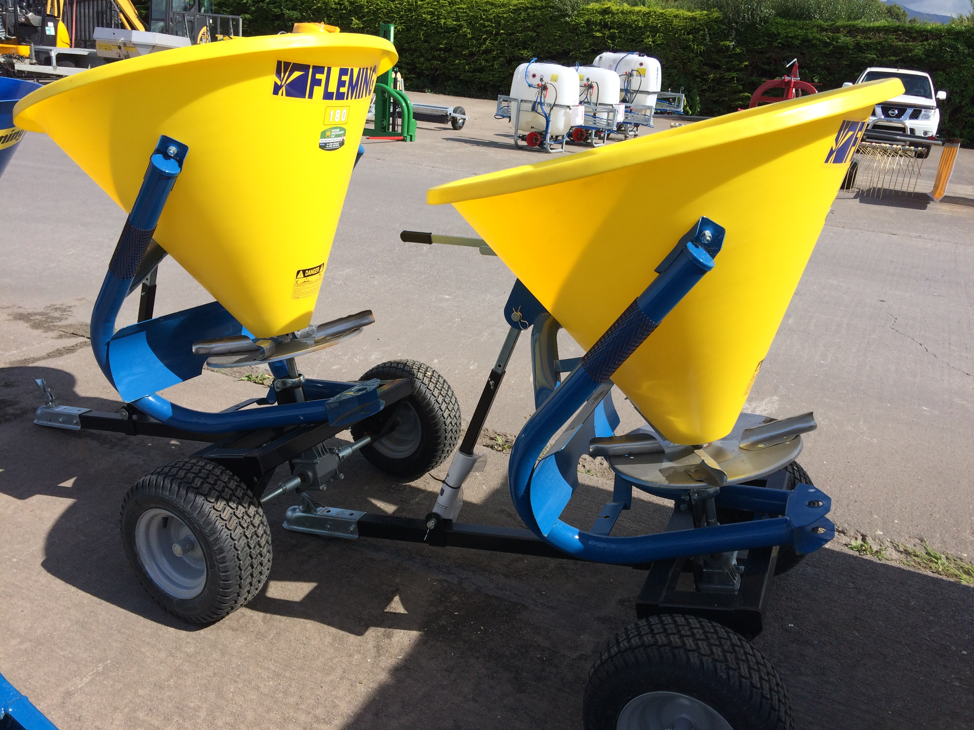 Fleming Trailed Quad Spreader